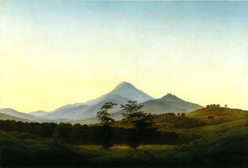 1: Böhmische Landschaft