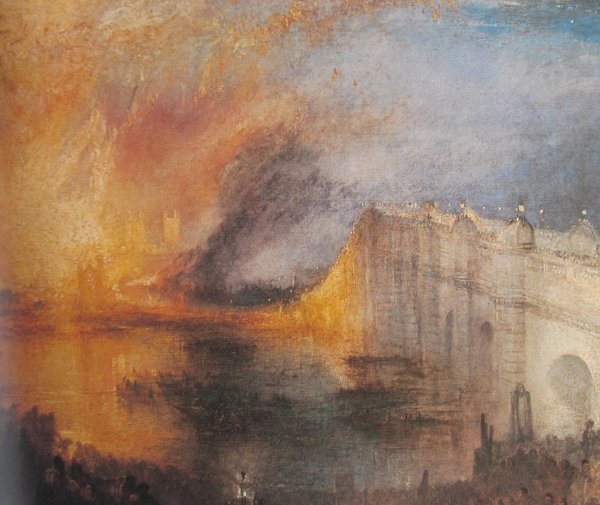 13: The Burning of the Houses of Lords and Commons. October 16., 1834.