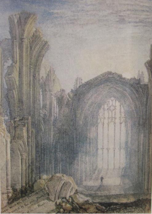 9:  Melrose Abbey.